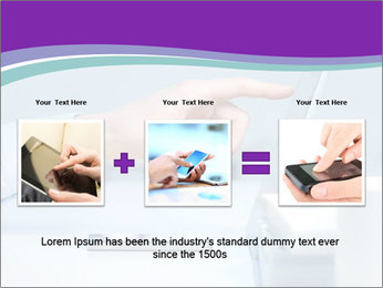 Hand pointing PowerPoint Template - Slide 22