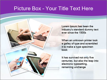 Hand pointing PowerPoint Template - Slide 23