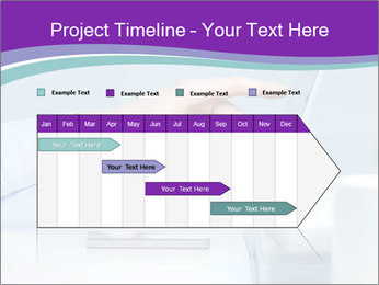 Hand pointing PowerPoint Template - Slide 25