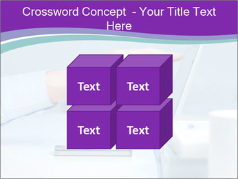 Hand pointing PowerPoint Template - Slide 39