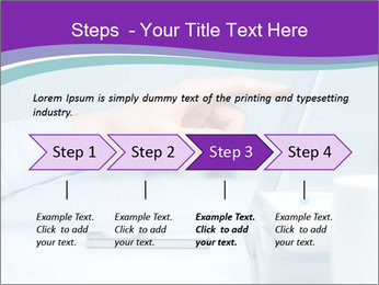Hand pointing PowerPoint Template - Slide 4