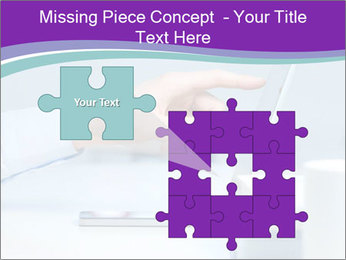 Hand pointing PowerPoint Template - Slide 45