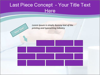 Hand pointing PowerPoint Template - Slide 46