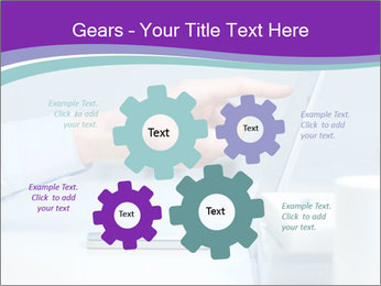 Hand pointing PowerPoint Template - Slide 47