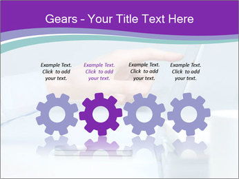 Hand pointing PowerPoint Template - Slide 48