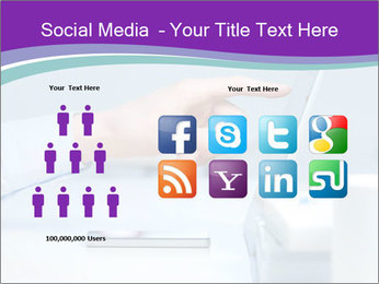 Hand pointing PowerPoint Template - Slide 5