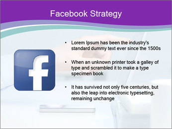 Hand pointing PowerPoint Template - Slide 6