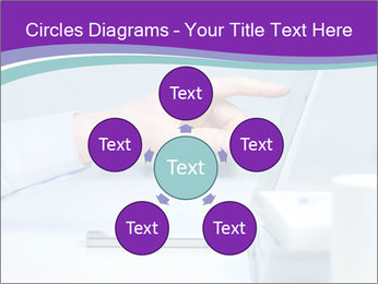 Hand pointing PowerPoint Template - Slide 78
