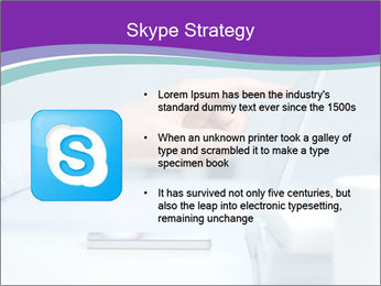 Hand pointing PowerPoint Template - Slide 8