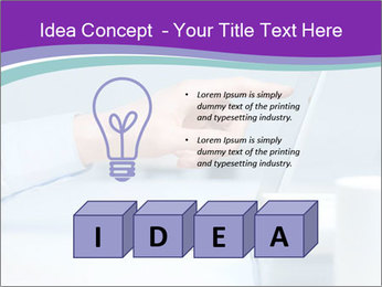 Hand pointing PowerPoint Template - Slide 80