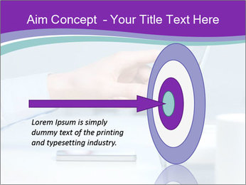 Hand pointing PowerPoint Template - Slide 83