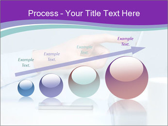 Hand pointing PowerPoint Template - Slide 87