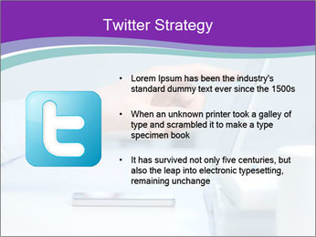 Hand pointing PowerPoint Template - Slide 9