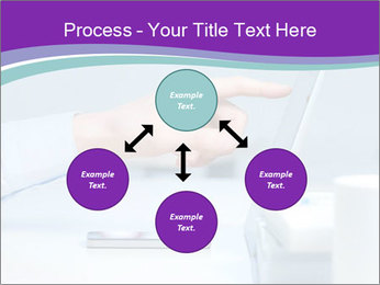 Hand pointing PowerPoint Template - Slide 91
