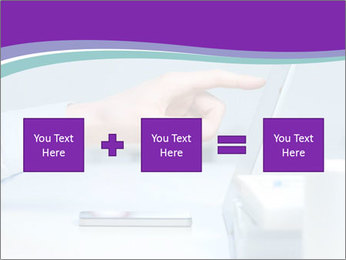 Hand pointing PowerPoint Template - Slide 95