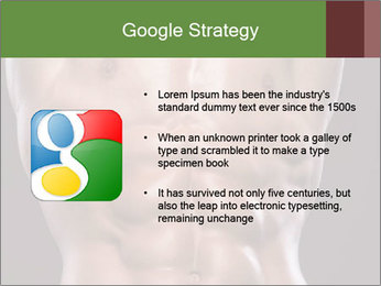 Male torso PowerPoint Template - Slide 10