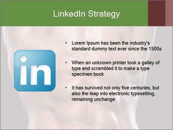 Male torso PowerPoint Template - Slide 12