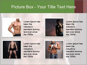 Male torso PowerPoint Template - Slide 14