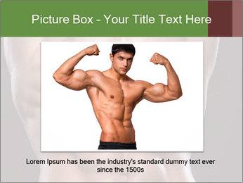 Male torso PowerPoint Template - Slide 15