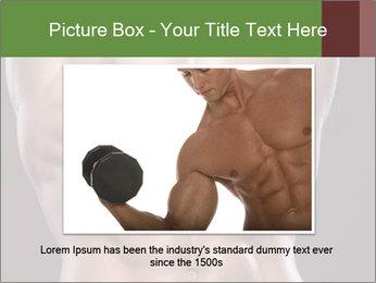 Male torso PowerPoint Template - Slide 16