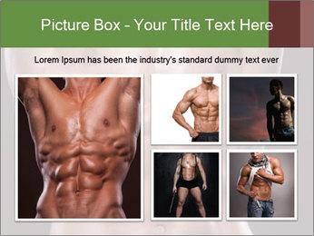 Male torso PowerPoint Template - Slide 19