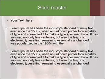 Male torso PowerPoint Template - Slide 2