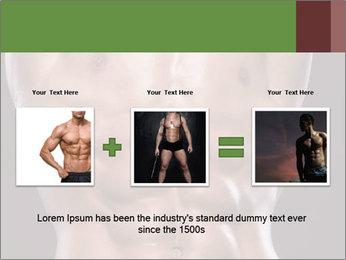 Male torso PowerPoint Template - Slide 22