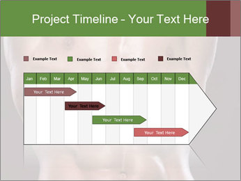 Male torso PowerPoint Template - Slide 25