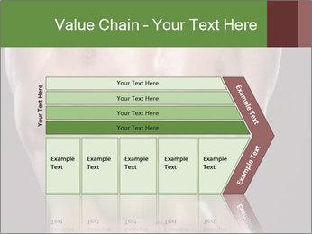 Male torso PowerPoint Template - Slide 27
