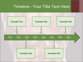 Male torso PowerPoint Template - Slide 28