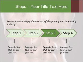 Male torso PowerPoint Template - Slide 4