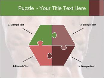 Male torso PowerPoint Template - Slide 40