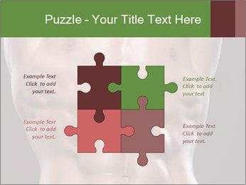 Male torso PowerPoint Template - Slide 43