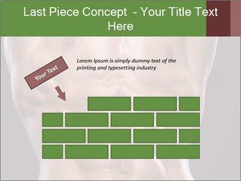 Male torso PowerPoint Template - Slide 46