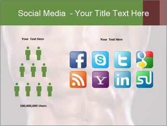 Male torso PowerPoint Template - Slide 5