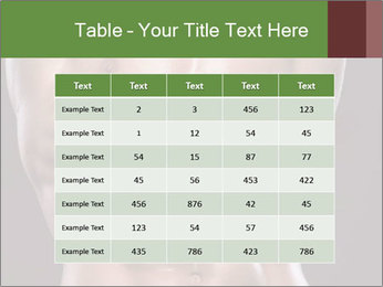 Male torso PowerPoint Template - Slide 55