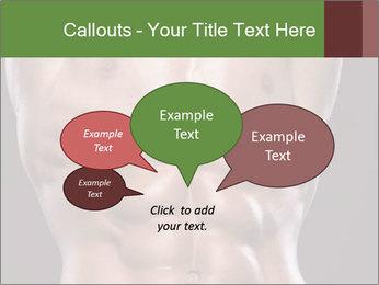 Male torso PowerPoint Template - Slide 73