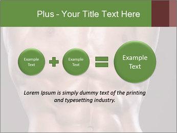 Male torso PowerPoint Template - Slide 75