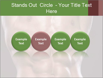 Male torso PowerPoint Templates - Slide 76