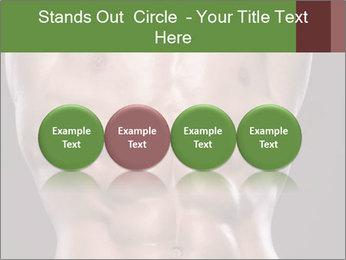 Male torso PowerPoint Template - Slide 76