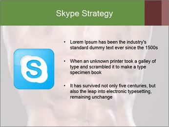 Male torso PowerPoint Template - Slide 8
