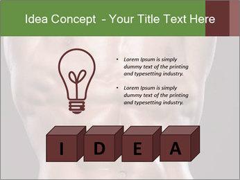 Male torso PowerPoint Template - Slide 80