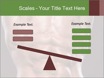 Male torso PowerPoint Template - Slide 89