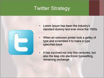 Male torso PowerPoint Template - Slide 9