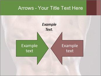 Male torso PowerPoint Template - Slide 90