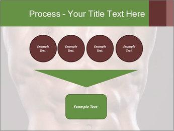 Male torso PowerPoint Template - Slide 93