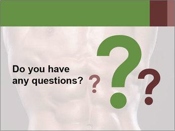 Male torso PowerPoint Template - Slide 96