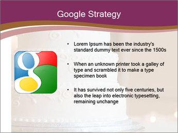 A multi level white wedding cake PowerPoint Template - Slide 10