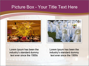 A multi level white wedding cake PowerPoint Template - Slide 18