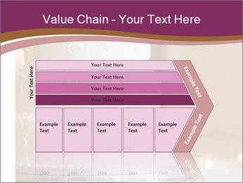A multi level white wedding cake PowerPoint Template - Slide 27